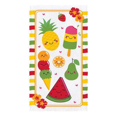 Toalha-Felpuda-de-Banho-Estampada-Fruit-60-cm-x-110-m