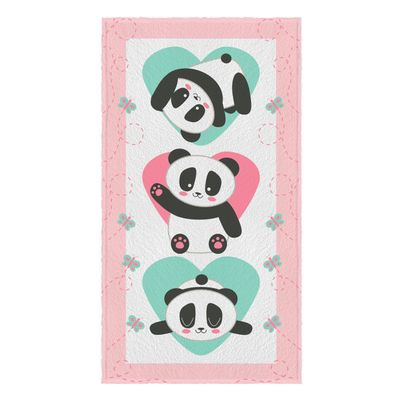 Toalha-Felpuda-de-Banho-Estampada-Panda-60-cm-x-110-m