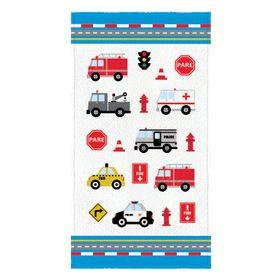 Toalha-Felpuda-de-Banho-Estampada-Truck-60-cm-x-110-m