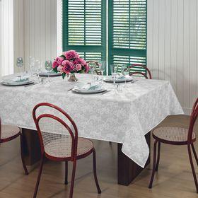 Toalha-Estampada-Retangular-Estampado-6-lugares-Gardenia-Elegance-140-m-x-220-m