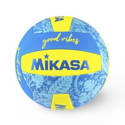 Bola-de-Voleibol-Mikasa-Good-Vibes---Azul---Amarelo