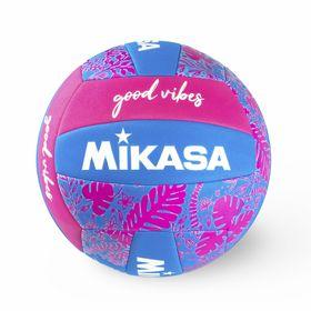 Bola-de-Voleibol-Mikasa-Good-Vibes---Azul---Rosa