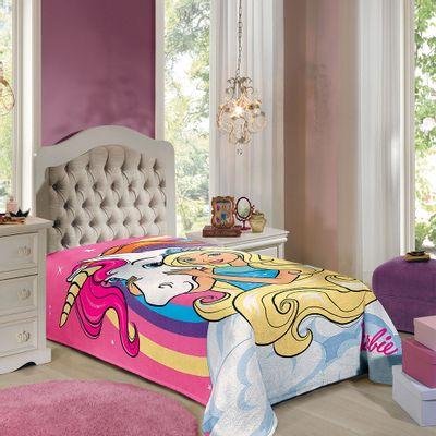 Manta-Fleece-Solteiro-Estampada-Barbie-Reinos-Magicos-150-m-x-220-m