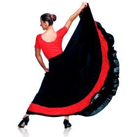 Saia-Flamenco-Tafeta
