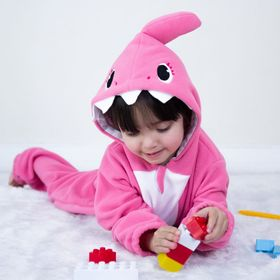 Macacao-Pijama-Tubarao-Baby-Shark-Rosa